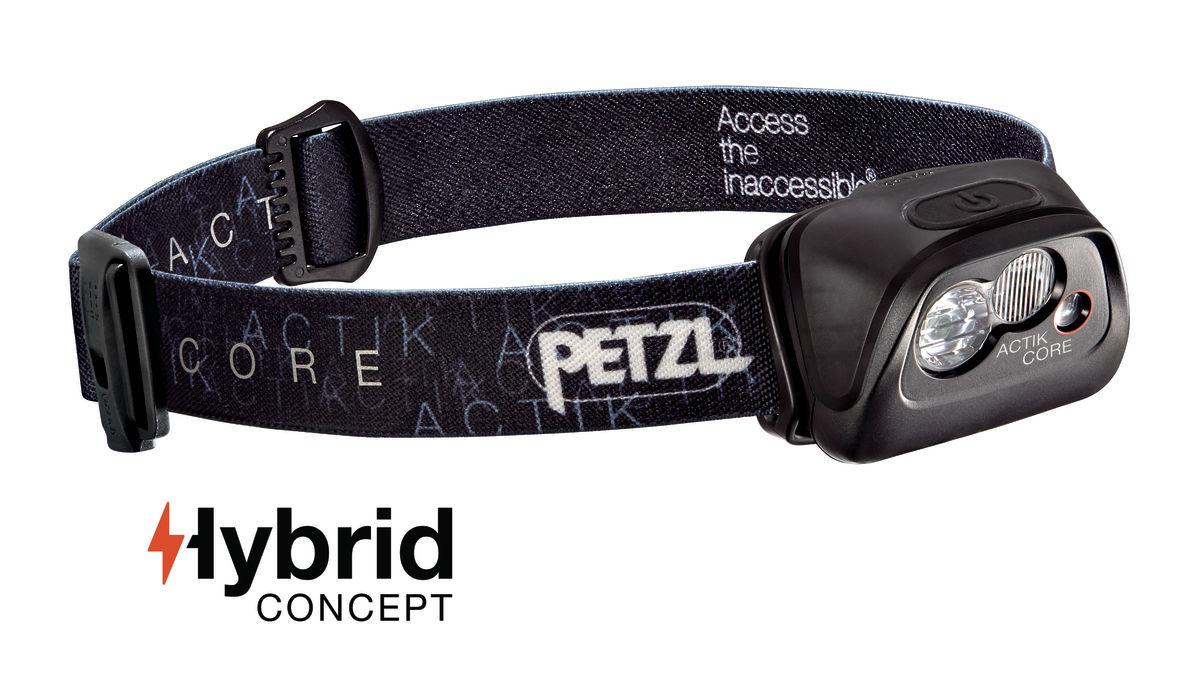 Petzl Actik Core negro