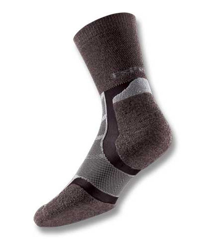 Thorlos Experia Wool-Silk brown