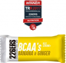 226ers Endurance Fuel Bar BCAA'S banana & jengibre