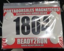 Ready2run Portadorsal Magnético blanco