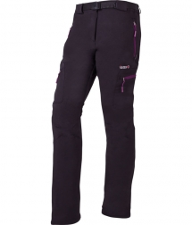 Izas Wengen Woman black/fucsia