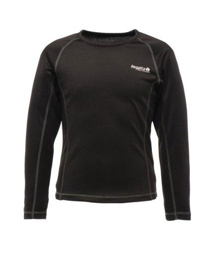 Regatta Kids L/S Base T-Shirt black