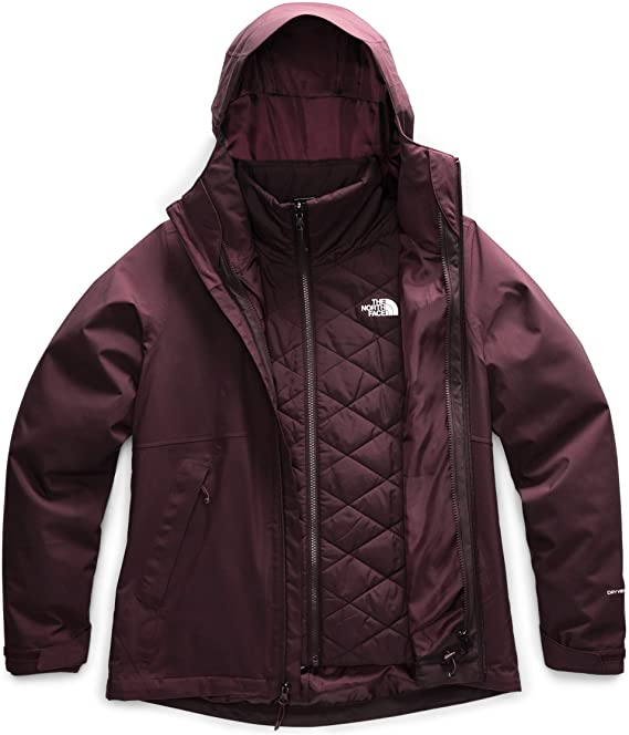 The North Face W Carto Triclimate root brown