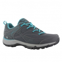 Hi-Tec Equilibrio Bijou Low WP Womens charcoal tile blue