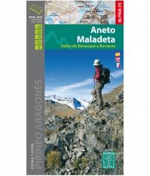 Alpina Mapa-Guía Aneto Maladeta