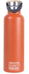 360º Degrees Vacuum Insulated 750 ml orange