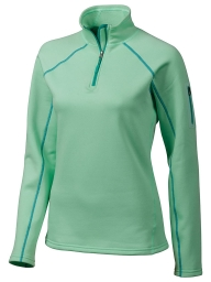 Marmot Stretch Fleece 1/2 Zip green frost