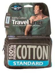 Sea To Summit Premium Cotton Travel Liner Standard Rectangular