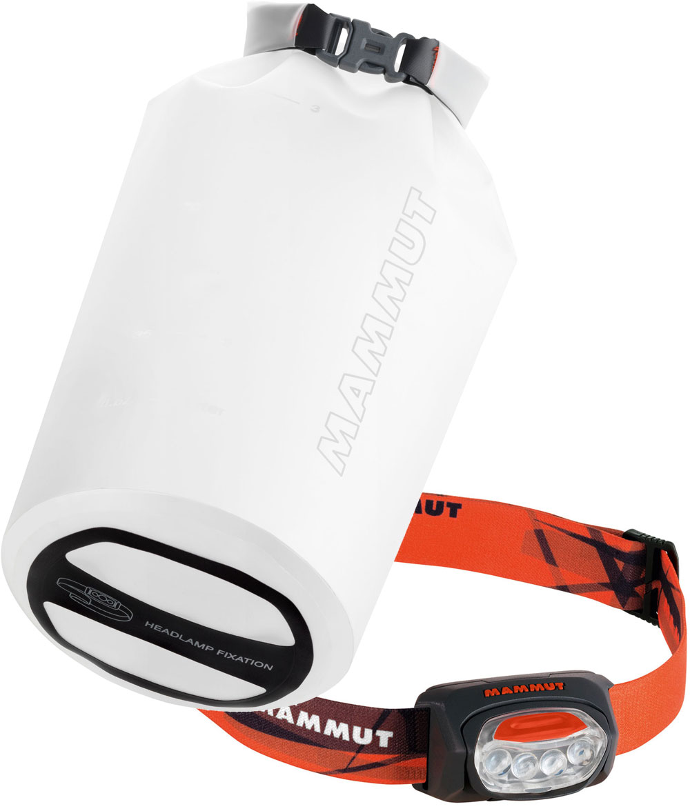 Mammut T-Trail + Ambient Light Dry Bag black
