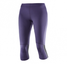 Salomon 3/4 Tight W purple velvet