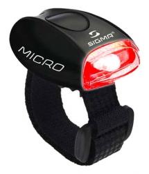 Sigma Luz Micro Negro LED Rojo