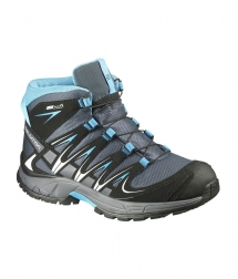 Salomon XA Pro 3D Mid CSWP J grey denim/black/methyl blue