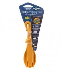 Sea to Summit Delta Cutlery Set naranja
