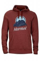 Marmot Pikes Peak Hoody team red heather