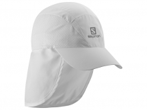 Salomon XA + Cap white