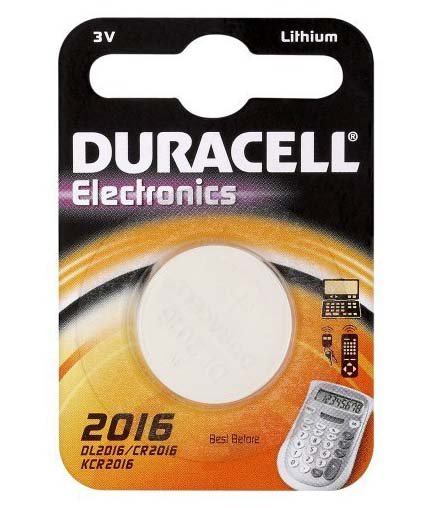 Duracell DL 2016 3V litio