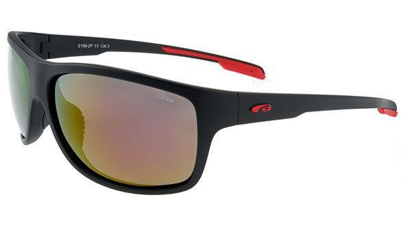 Goggle Gizmo Black Red Mirror