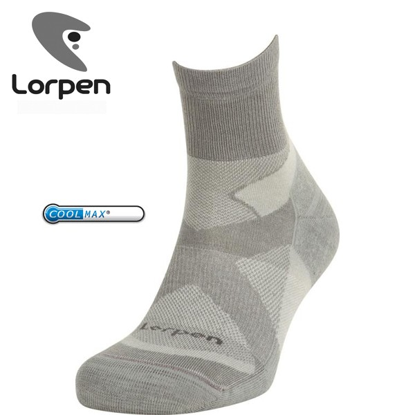 Lorpen T2TCXS Light Hiker Shorty mid grey