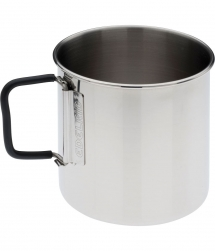 Edelrid Clip Mug 0,5L Stainless Steel