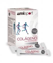 AML Sport Colágeno con Magnesio + VitC fresa 20 sticks
