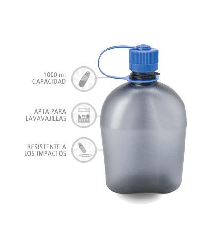 Nalgene Cantimplora Oasis Gris 1000 ml