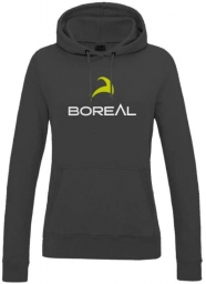 Boreal Boreal Sudadera Chica Logo negro