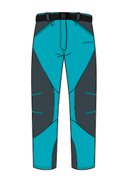 Trangoworld Cardha verde azulado/antracita