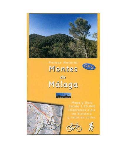 Mapa-Guía P.N. de Montes de Málaga.