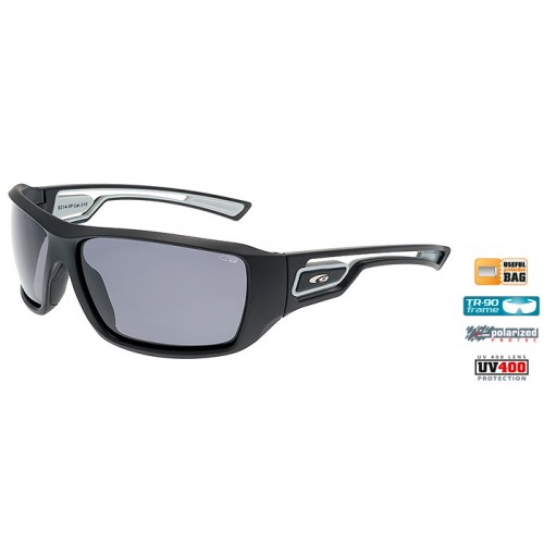 Goggle Gabo Matt Black-Grey