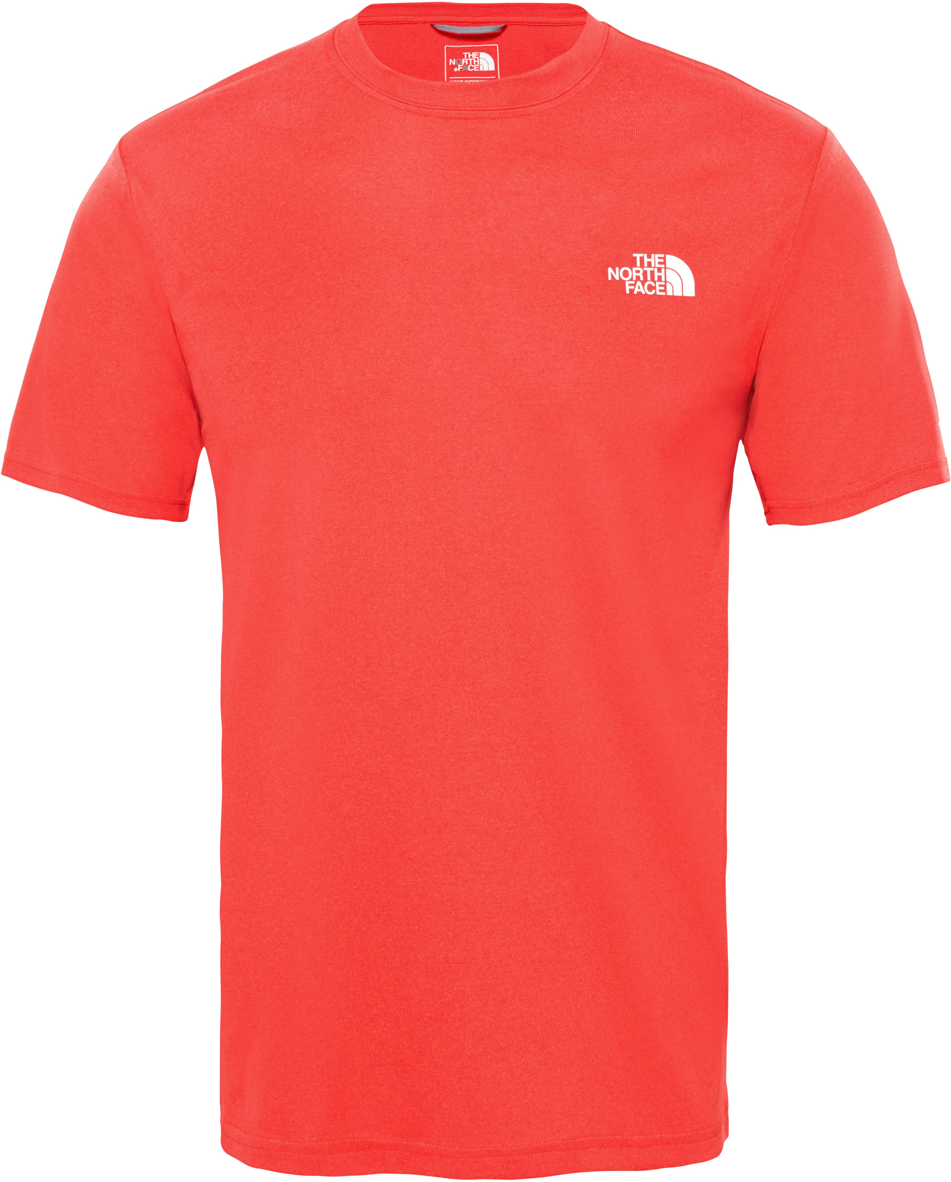 TNF Reaxion Amp Crew red heather