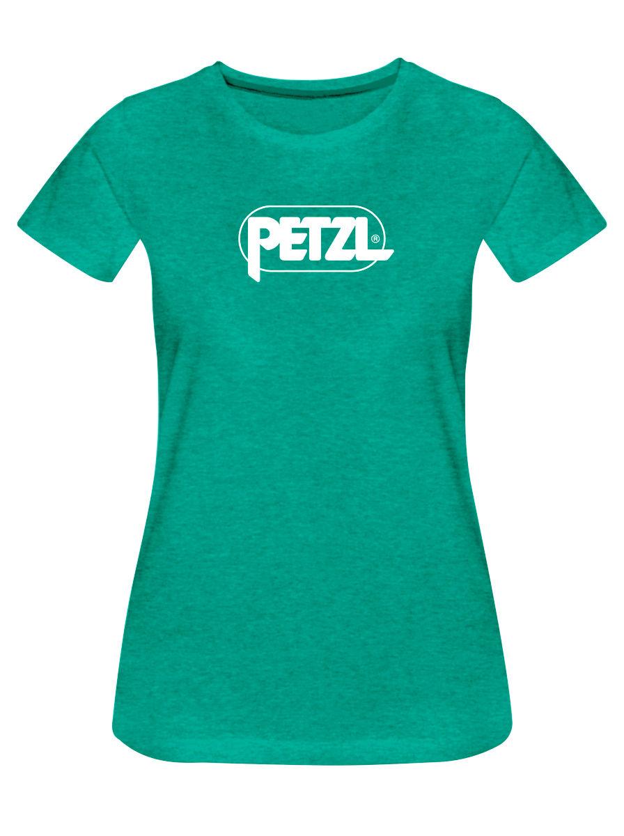 Petzl T-Shirt Eve turquesa