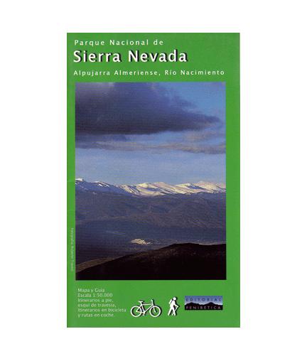 Mapa-Guía P.N. de Sierra Nevada Almería