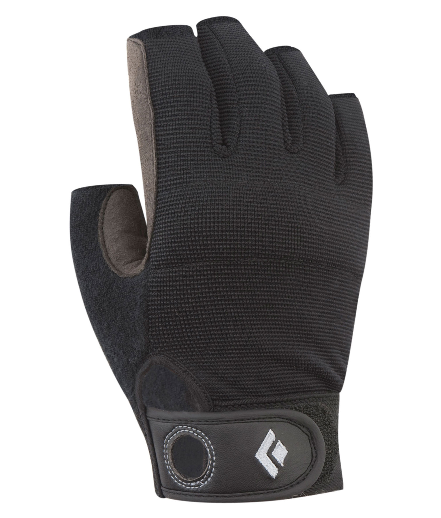 Black Diamond Crag Half Finger Glove black