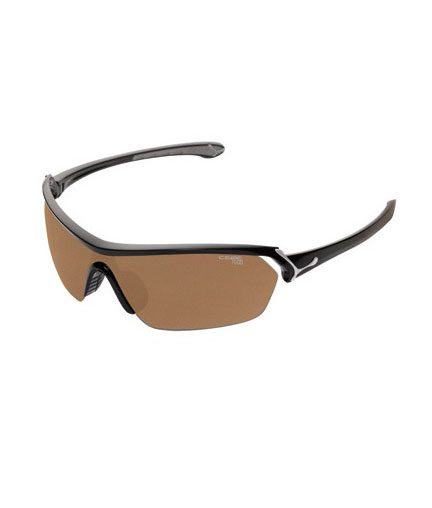 Cébé Eyemax Shield Shiny Black Variochrom Perfo Brown