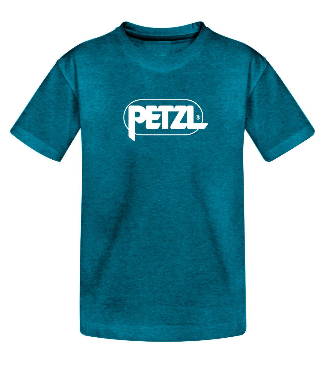 Petzl T-Shirt Adam Logo bleu XL