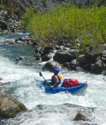 Kayak, aguas bravas