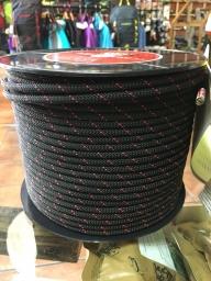Roca Funis 6 mm Aramida Cordino negro-rosa