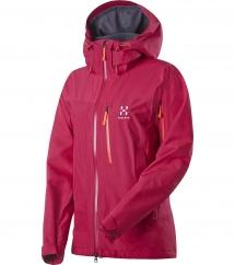 Haglöfs Verte II Q Jacket volcanic pink
