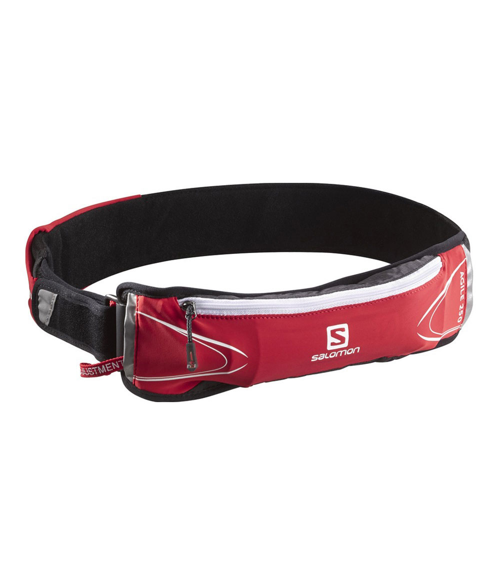 Salomon Agile 250 Belt Set bright red