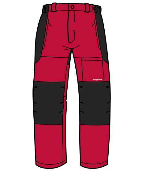 Trangoworld Trace CN rojo