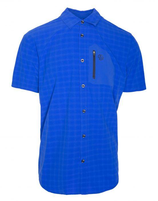 Ternua Athy Shirt M deep sea blue checks