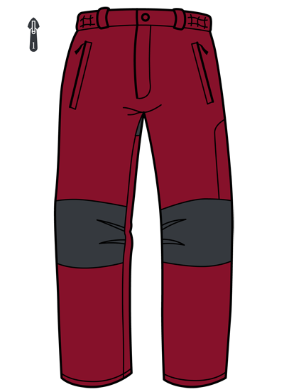 Trangoworld Sone CN rojo