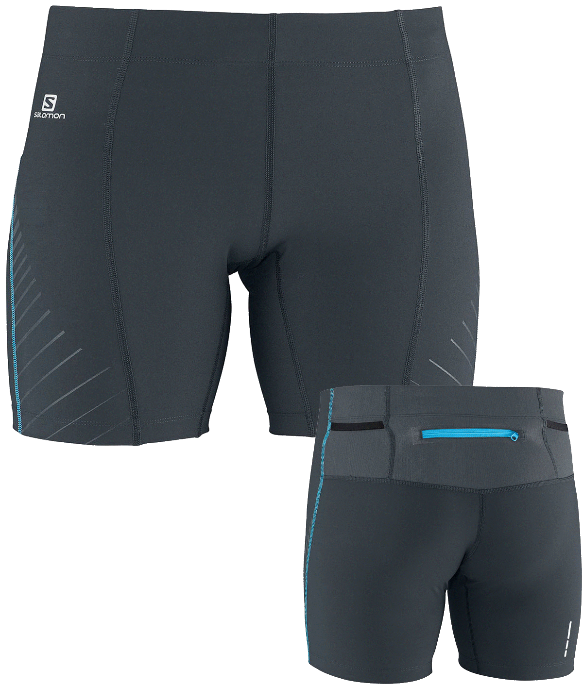 Salomon 1/4 Endurance Short Tight W cloud