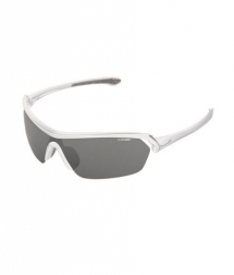 Cébé Eyemax Shield Shiny White Variochrom Perfo Grey