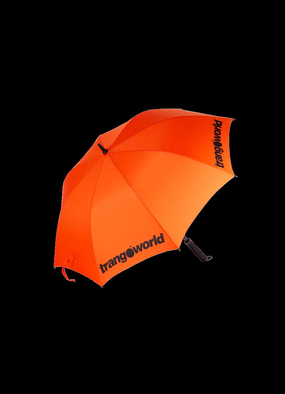 Trangoworld Paraguas Storm naranja/negro