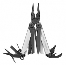 Leatherman Wave+ negro y plata