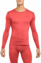 Thermowave Merino ONE50 Mens Shirt LS red