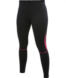 Craft Active Run Woman Tight black/hibiscus