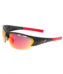 Goggle Drone Black Polichromed Red