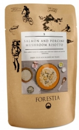 Forestia Risoto, salmón y setas
